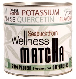 SBT Seabuckthorn Wellness Matcha for rosacea