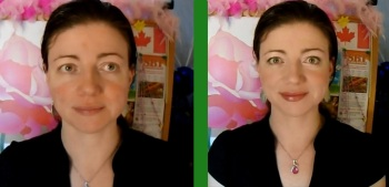 Rosacea Blogger Rosy JulieBC - Covering Redness