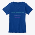 Rosy Life V-Neck T-Shirt (Women's) | Rosy JulieBC